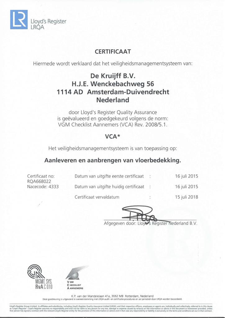 VCA Certificaat-1