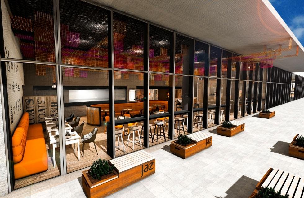 Hotel jaz in the city amsterdam de kruijff b v for Design hotel jaz in the city